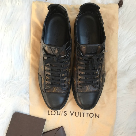 Louis Vuitton Other - Louis Vuitton Men Slalom Monogram Canvas Sneakers 09e4fa1ed2a